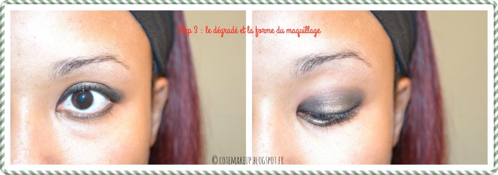 Tuto maquillage 3 smoky eyes noir revisit d une touche - Smoky eyes tuto ...