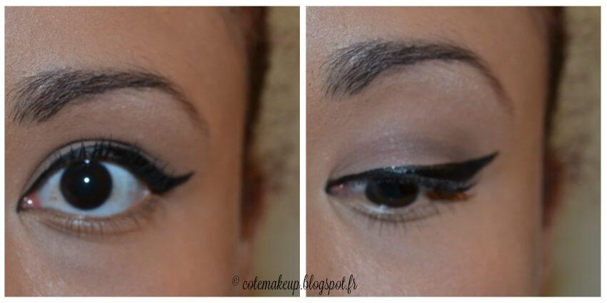 Eyeliner maquillage Rockabilly Côté Make-up cotemakeup.blogspot.fr pour PourquoiBouger.com