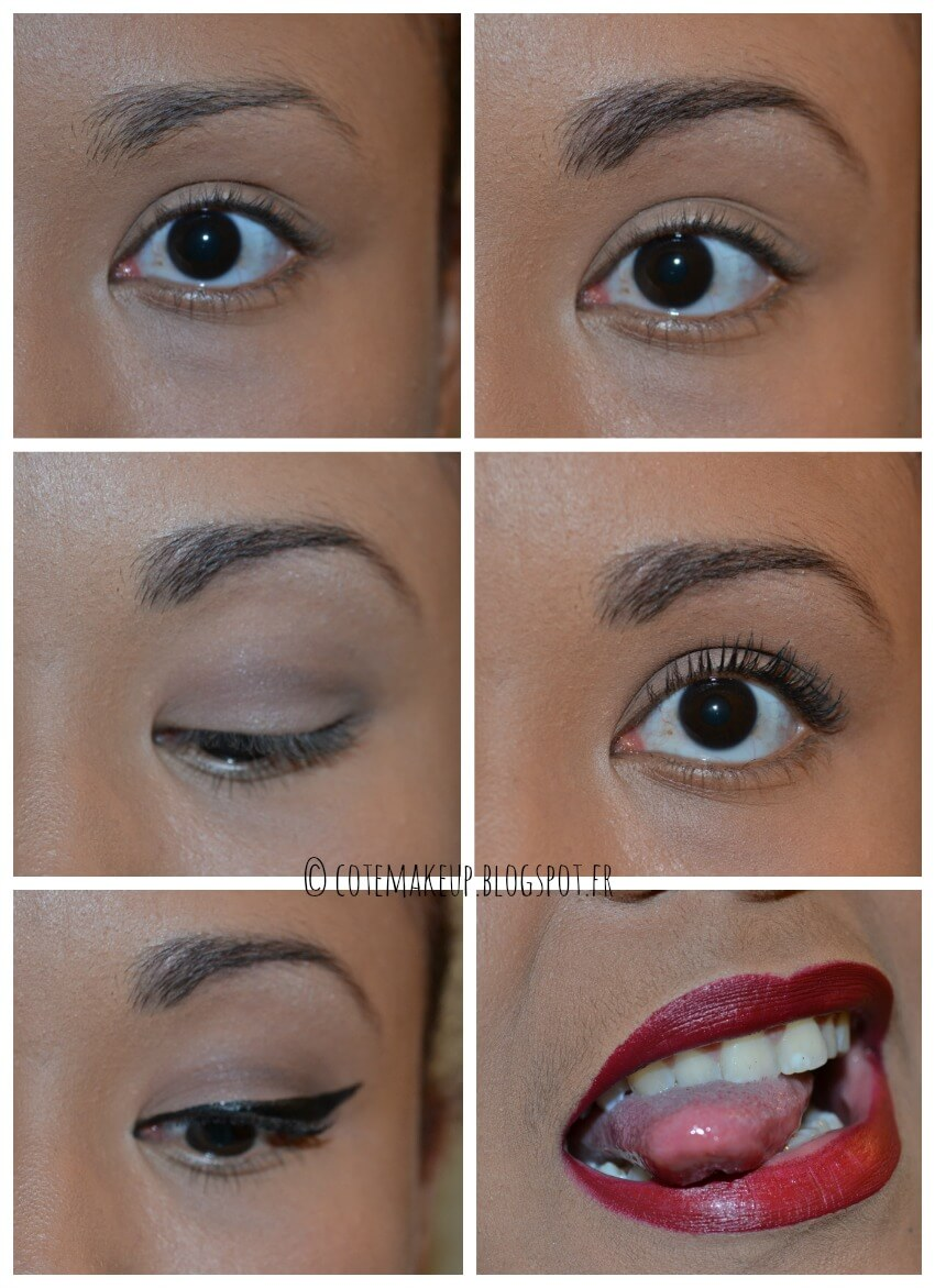 Tuto maquillage makeup Rockabilly léger