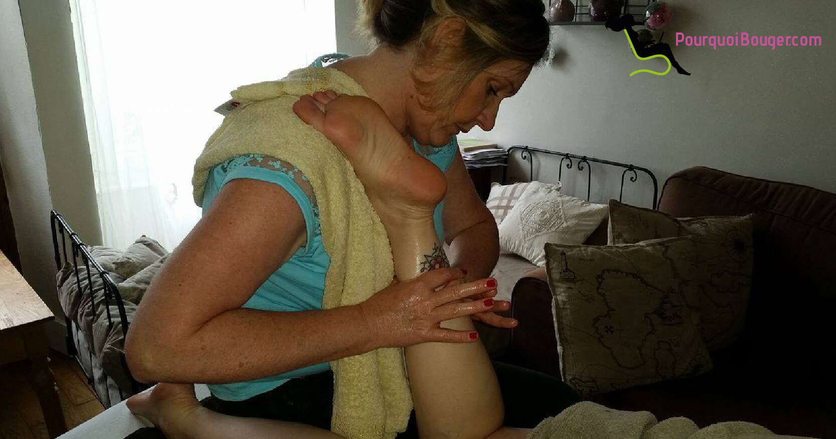 Photo d'un Massage à domicile , modelage à domicile des jambes sur Besançon 25 000 le Doubs -25 Sandrine_Morel_2