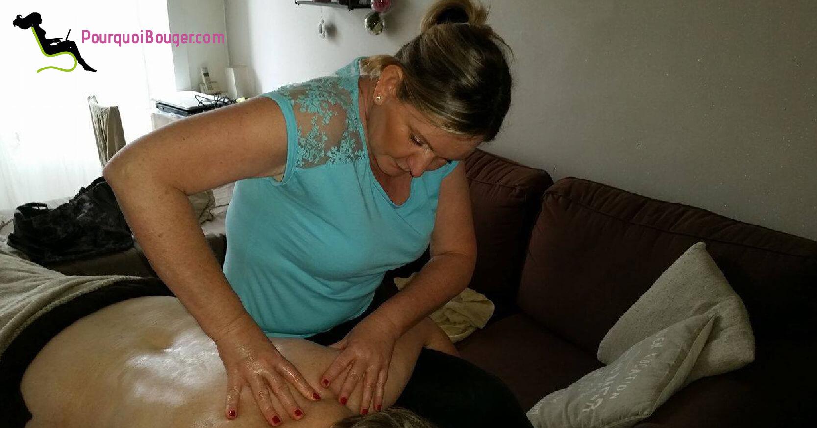Photo d'un Massage à domicile , modelage à domicile des epaules sur Besançon 25 000 le Doubs -25 Sandrine Morel 4